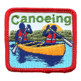 S-1469 Canoeing Patch