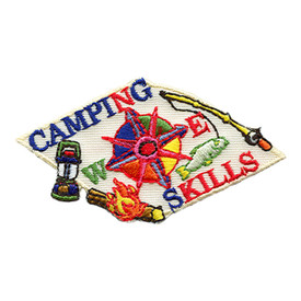 S-1472 Camping Skills Patch