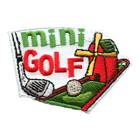 S-1473 Mini Golf Patch
