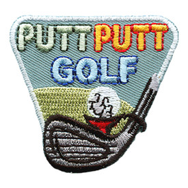 S-1477 Putt Putt Golf Patch