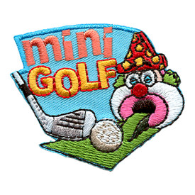 S-1479 Mini Golf (Clown) Patch