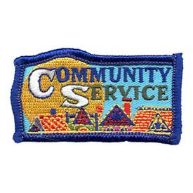 S-1482 Community Service Patch