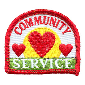 S-1487 Community Service Patch