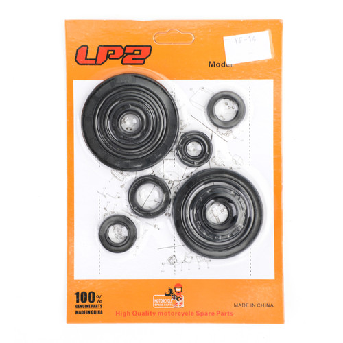 Engine Oil Seal Kit 10PCS Fit For Honda CRF250R 2004-2009 CRF250X 2004-2017 2012-2013 2015-2017