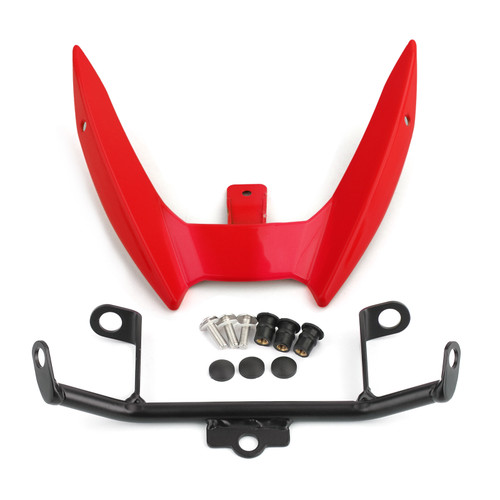 Upper Stay Bracket Front Headlight Trim Fit For Yamaha MT-03 2015-2019 RED