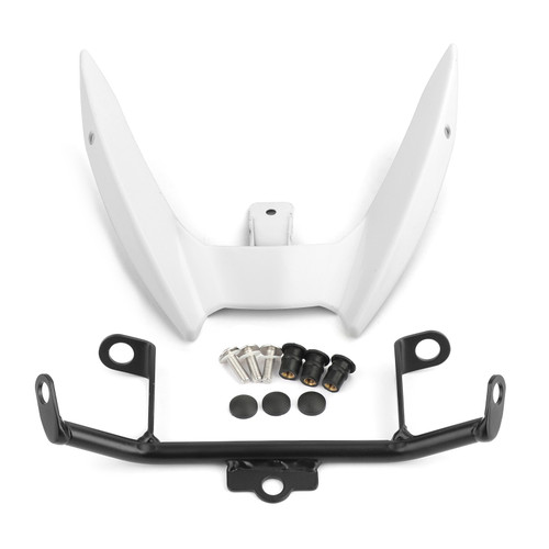 Upper Stay Bracket Front Headlight Trim Fit For Yamaha MT-03 2015-2019 WHI