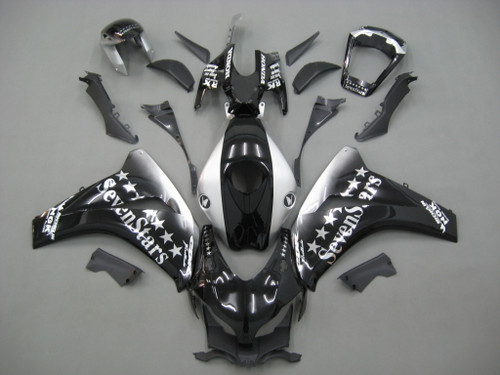 Fairings For Honda CBR1000 RR Black SevenStars Racing (2008-2011)
