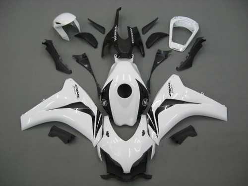 Fairings For Honda CBR1000 RR White & Black CBR Racing (2008-2011)