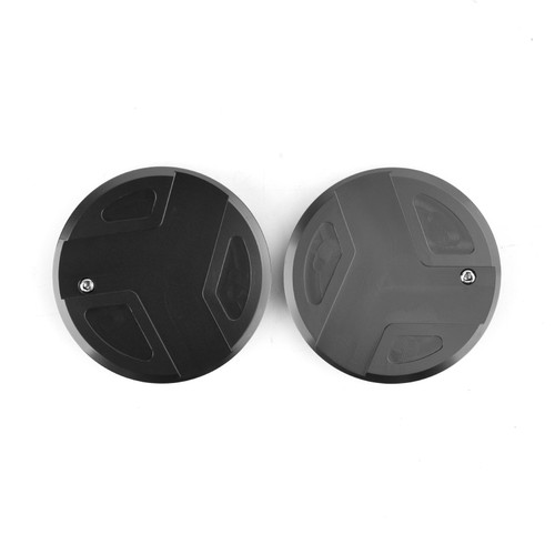 CNC Aluminum Frame Cover Cap Plug Fit For BMW R1200GS R1200RT R1250GS R1250R R1250RS BLK