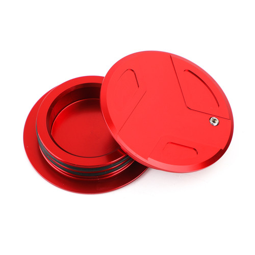 CNC Aluminum Frame Cover Cap Plug Fit For BMW R1200GS R1200RT R1250GS R1250R R1250RS RED