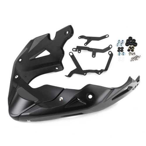 Belly Pan Kit Engine Cover Fairings Under Cowl Exhuast Guard Fit For Honda CB650R 2019-2021 CB650F 2014-2021 CB650FE 2019-2020 BLK