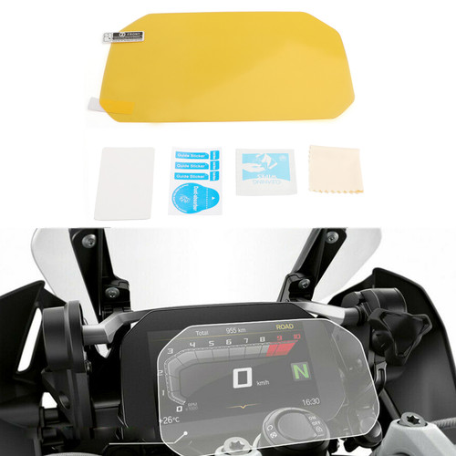 Anti-Glare Instrument / Speedo Cluster Scratch Protection Film / Dashboard Screen Protector Fit For BMW R1200GS R1250GS F750GS