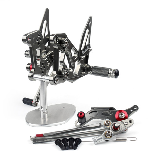 CNC Made Rearsets Fit For MV Agusta F3 2012-2016 GRAY