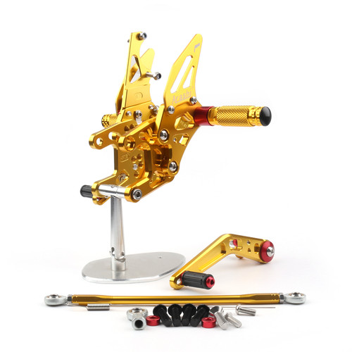 Adjustable CNC Rider Rear Set Rearsets Footrest Foot Rest Pegs Fit For Honda CBR1000RR 2012-2018 GOLD