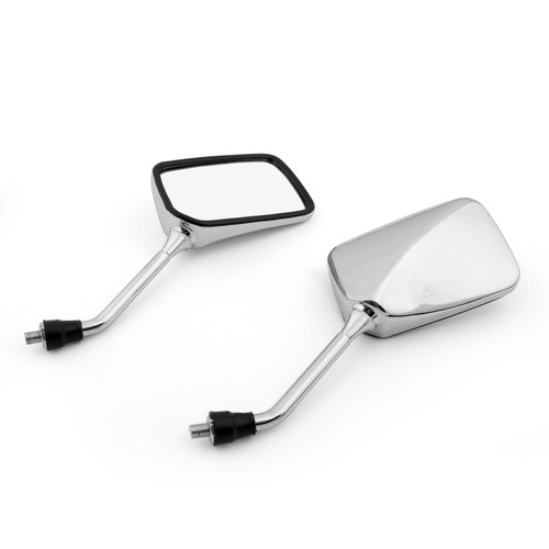 1 Pair Motorcycle Rearview Side Mirrors Fit For Honda CB400 CB750 CB1000 CB1300