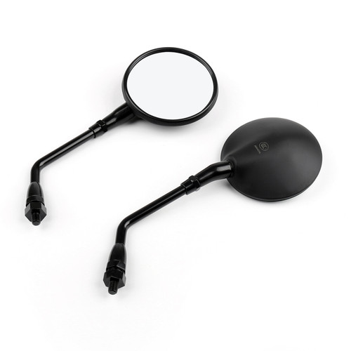 1 Pair Motorcycle Rearview Side Mirrors Fit For Honda CB400SS VT750 CBF500 04-05 BK