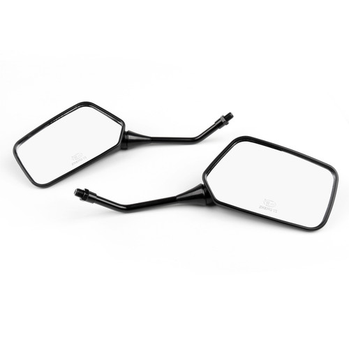 10mm Motocycle Rear View Mirrors Fit For Honda CB250 Nighthawk Police NX125/250/500/650