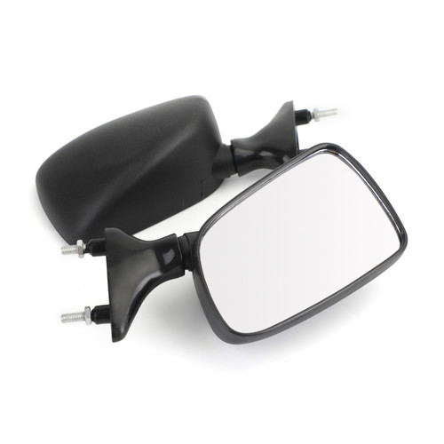 Motorcycle Rearview Side Mirrors Pair Fit For Yamaha TZR250 FZR250 FZR400 FZR600
