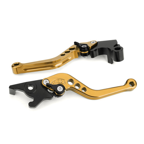 Brake Clutch Levers Fit For Yamaha MT-25 MT-03 YZF-R3 2015-2017 YZF-R25 2014-2017 GOLD