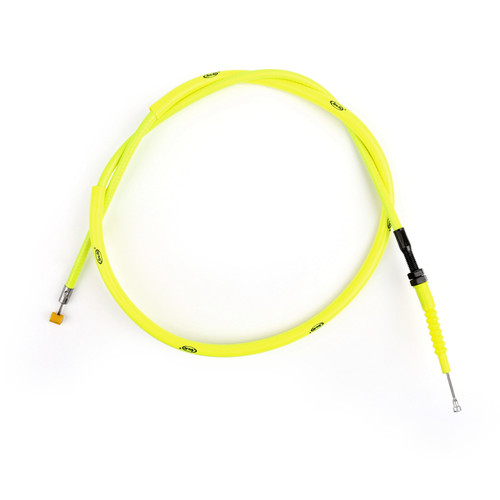 Clutch Cable Linkage Line Fit For Yamaha YZF R1 YZF-R1 2004-2008 Neon Yellow