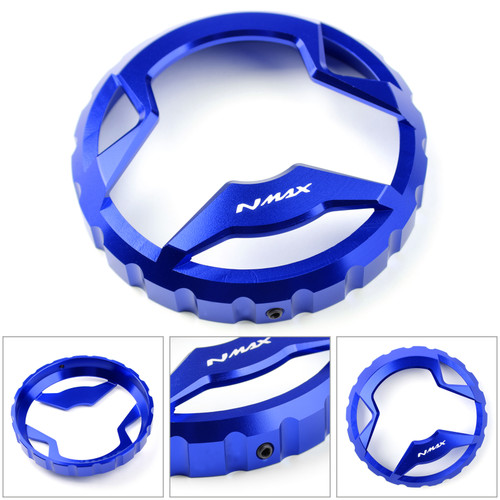 Fuel Gas Tank Cap Oil Tank Cover Decor Fit For Yamaha NMAX 125 150 155 2015 2016 2017 2018 2019 BLUE