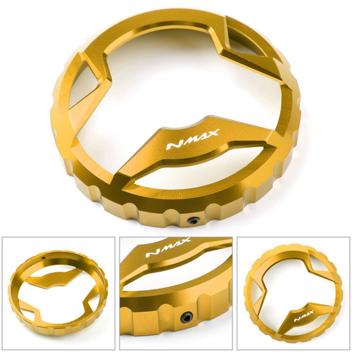 Fuel Gas Tank Cap Oil Tank Cover Decor Fit For Yamaha NMAX 125 150 155 2015 2016 2017 2018 2019 GOLD