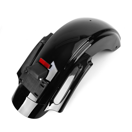 Rear Fender LED System Fit For Harley Touring Electra Road Street Glide FLHR 2009-2013 GRY