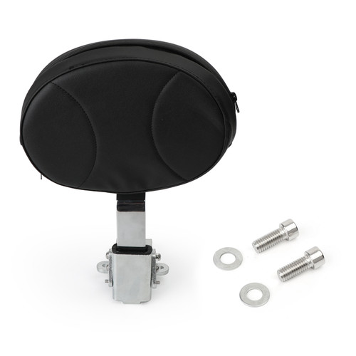 Driver Backrest Fit For Harley 2010-2019 models, such as Dyna, Sportster, Touring, Softail