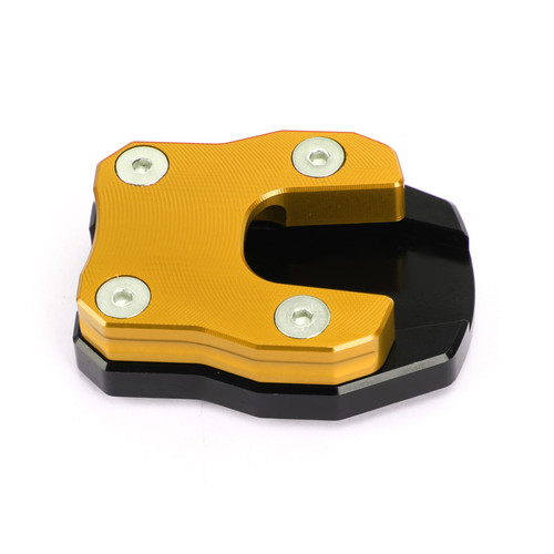 Kickstand Side Stand Extension Pad Fit For Honda ADV150 2019-2021 PCX 125 PCX 150 2018-2019 GOLD