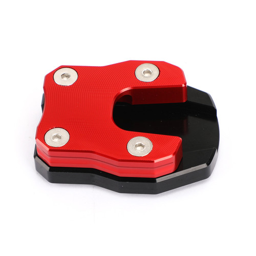 Kickstand Side Stand Extension Pad Fit For Honda ADV150 2019-2021 PCX 125 PCX 150 2018-2019 RED