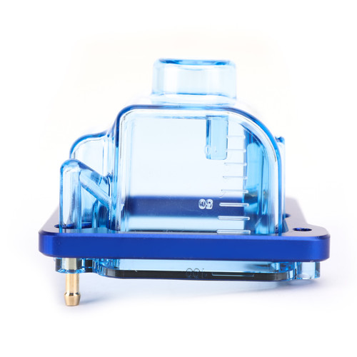Carburetor Bottom Float Bowl Comp Chamber Oil Cup Fit For Keihin PE 24 26 28 30MM Blue