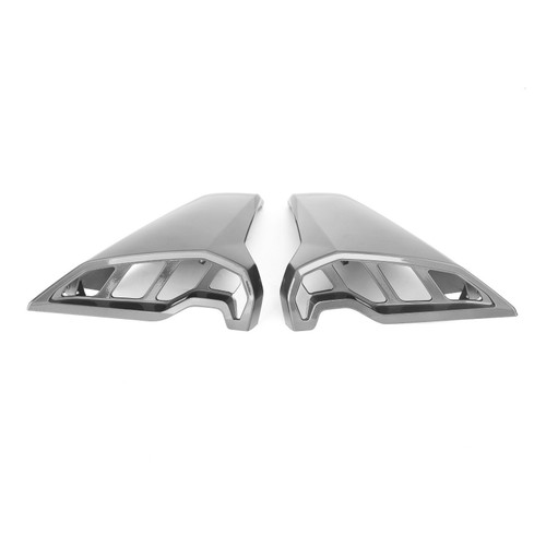 Air Intake Inlet Ram Tube Scoop Covers Fit for Yamaha MT09 MT-09 FZ09 FZ-09 2017-2020 Gray