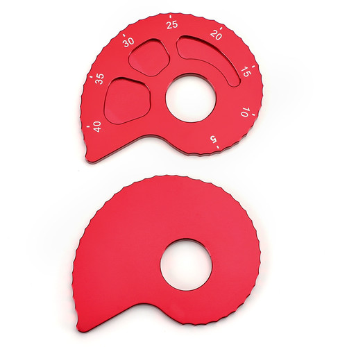 Chain Adjusters with Spool Tensioners Catena Fit For Suzuki DRZ400E DRZ 400S 2000-2020 Red