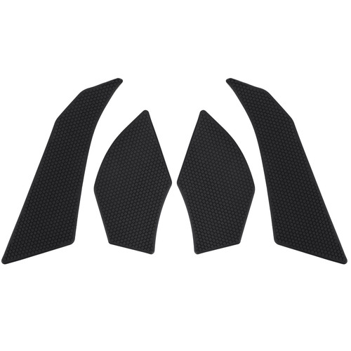 Stickers Tank Traction Pad Side Gas Knee Grip Protector Fit For DUCATI MULTISTRADA 1200 15-18 DUCATI MULTISTRADA 1260 17-20 Black