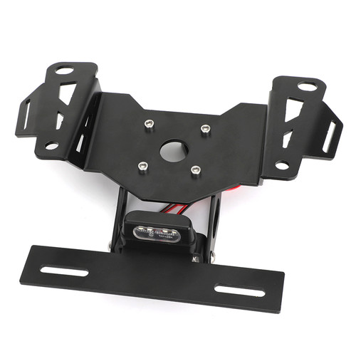 License Plate Holder Bracket Fit For Honda CB650R CBR650R 2019-2020 Black