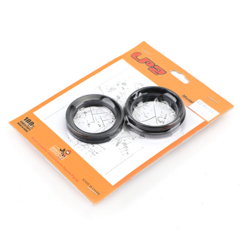Front Fork Oil Seal Dust Seal Kit Fit For Yamaha XV1600 XV1600A 99-04 XVZ1300 96-13 XV1700A Road Star 04-14