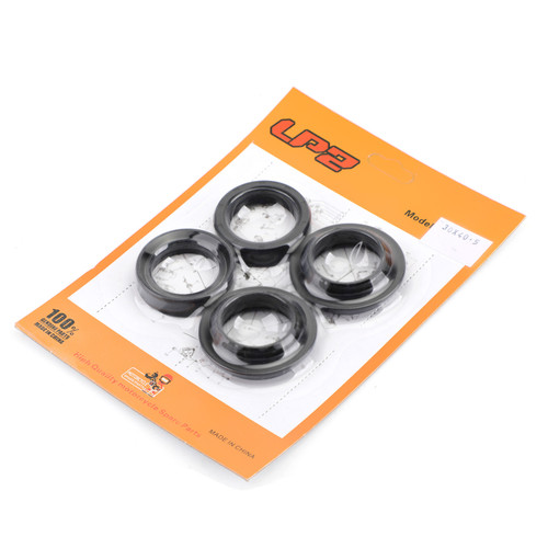 Fork Oil Seal Wiper Set Fit For Kawasaki KLF150 00-18 KLX140L 13-18 KLX125C 10-15 KX65A 00-15