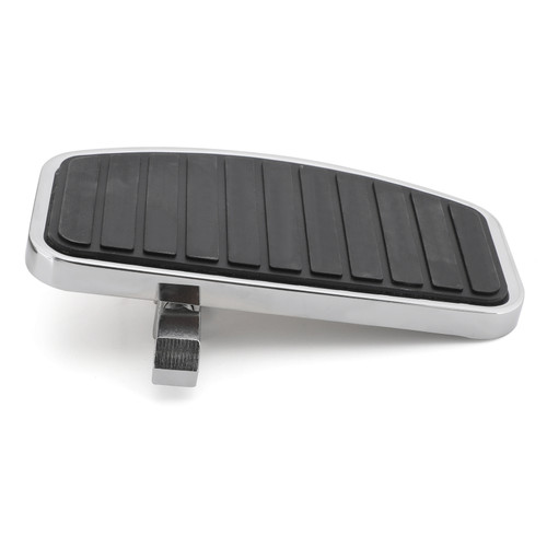 Floorboard Footboard Front or Rear Fit For Most Motorcycles Black