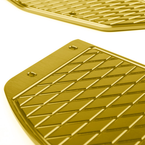 Foot Peg Plate Footrest Step Pad Mat Cover Fit For Yamaha XMAX 300 2017-2018 Gold