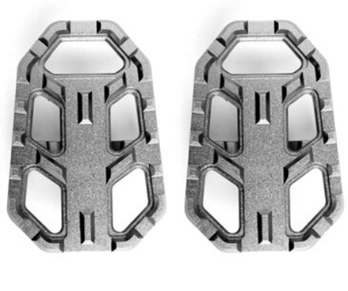 2x CNC WIDE Footpeg Foot Pegs Fit For Honda NC700X/S 2014-2018 NC700X/S 2012-2014 Titanium