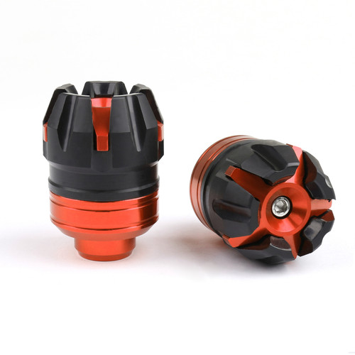 Fork Cups Scooter Front wheel Drop Resistance Motorcycle Aluminium Fit For Most Bikes Orange