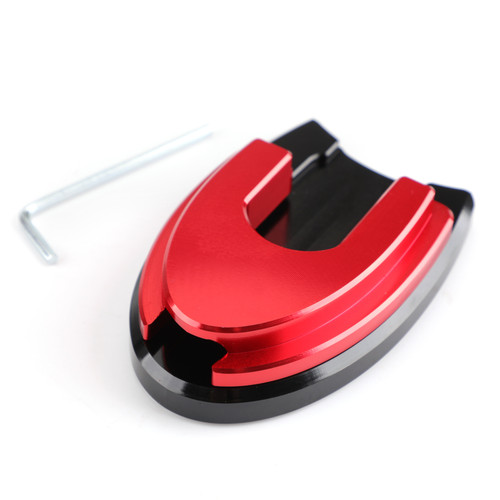 Sidestand Plate Kickstand Extension Pad CNC Fit For Honda PCX 125/150 18-19 Red