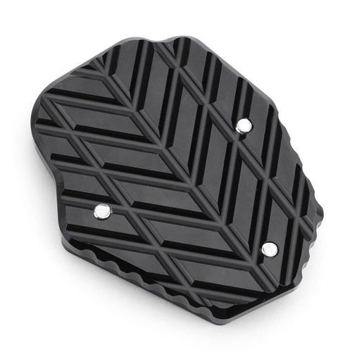 Aluminum Side Stand Kickstand Pad Extension Plate Fit For Honda CRF250L 13-16 Black