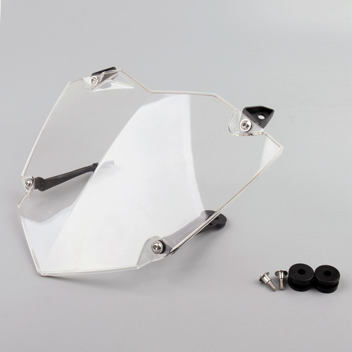 Front Headlight Guard Cover Lens Protector Fit For BMW R1200GS WC (13-17) ADV WC (14-17) Clear
