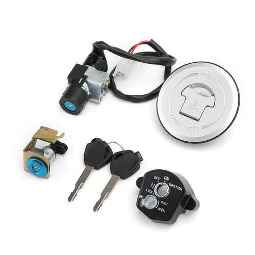 35010-KTY-H50 Ignition Switch Fuel Gas Cap Seat Lock Key Kit Fit For Honda CBR150R 14-16 CBR125R JC50 11-18 CBR125RT CBR125RS 12-16 CBR125RF 2016