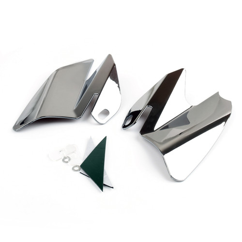 Seat Saddle Shield Heat Deflectors Fit For Harley-Davidson Electra Glide Standard Chrome