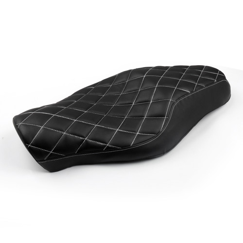 Front Rear Seat Two up Fit For Harley Davidson Forty-eight (10-16) Seventy-two (12-16) Sportster 1200 883 models, Diamond 52000211
