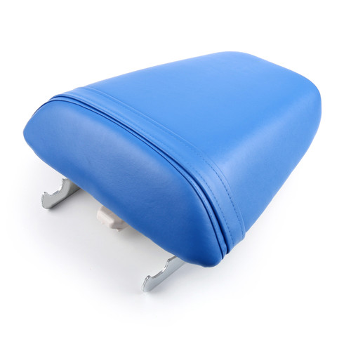 Passenger Rear Seat Leather Pillon Fit For Honda CBR600 F4i (2001-2007) Blue