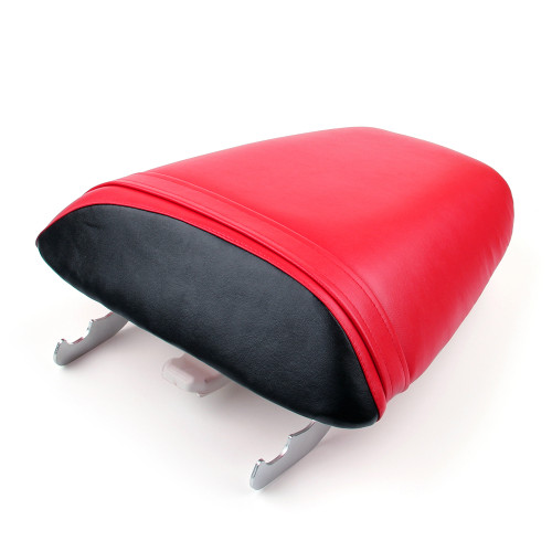 Passenger Rear Seat Leather Pillon Fit For Honda CBR600 F4i (2001-2007) Red
