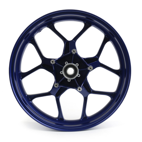Aluminium Alloy Front Wheel Rim Fit For Yamaha YZF R1 (2015-2017) Blue